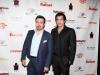 TI Network producer Alireza Amirghasemi and Iranian actor Shahrokh Noor Mohammadi