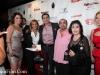 Armenian/American actor Ken Davitian, actress Apick Yousefian, MClub host Tatevik Ekezian and Radio Iran host Suzy Khatami with Vahik Pirhamzei
