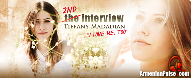 Tiffany Madadian Interview for new Cd release 'I Love Me, Too""