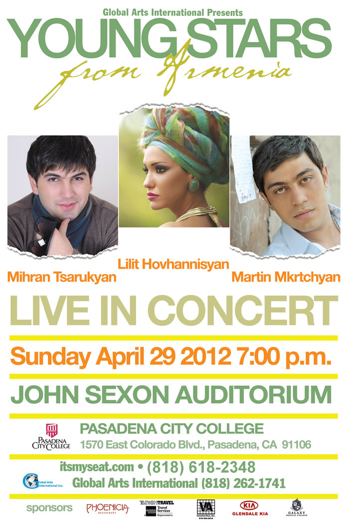 Young Stars Of Armenia Live Concert!