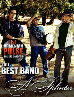 A Splinter Winner Best Band Armenian Pulse Music Awards