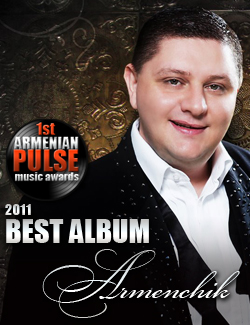 Armenchik Winner Best Album Armenian Pulse Music Awards