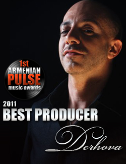 DerHova Winner Best Producer Armenian Pulse Music Awards