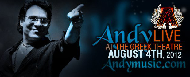 Andy Live in Concert at the Greek Theater