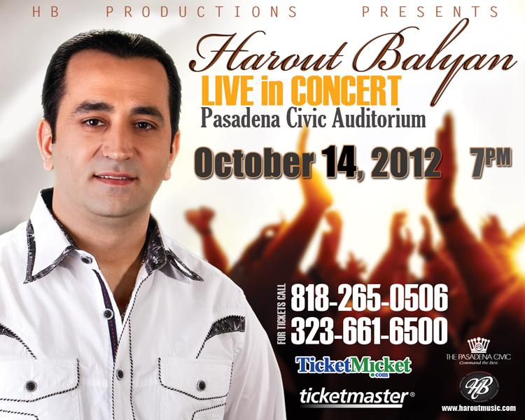 Harout Balyan Live in Concert