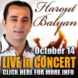 Harout Balyan Concert