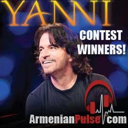 Yanni Contest Winners fromArmenianpulse.com