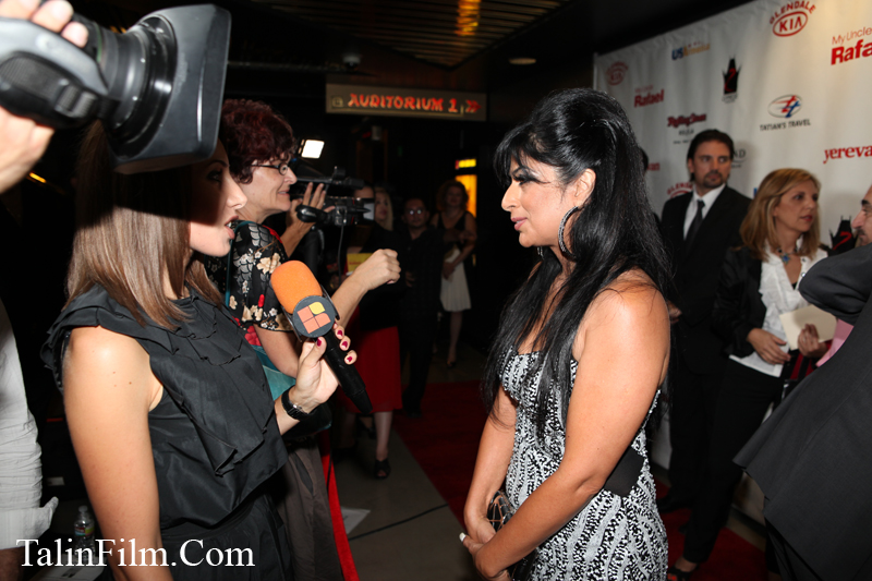 Anahid Avanesian on the Red Carpet at My Uncle Rafael Movie premiere