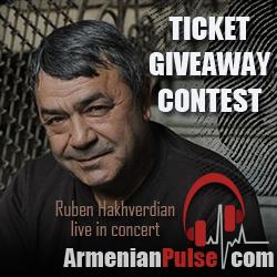 Ruben Hakhverdian LIVE - Concert Giveaway