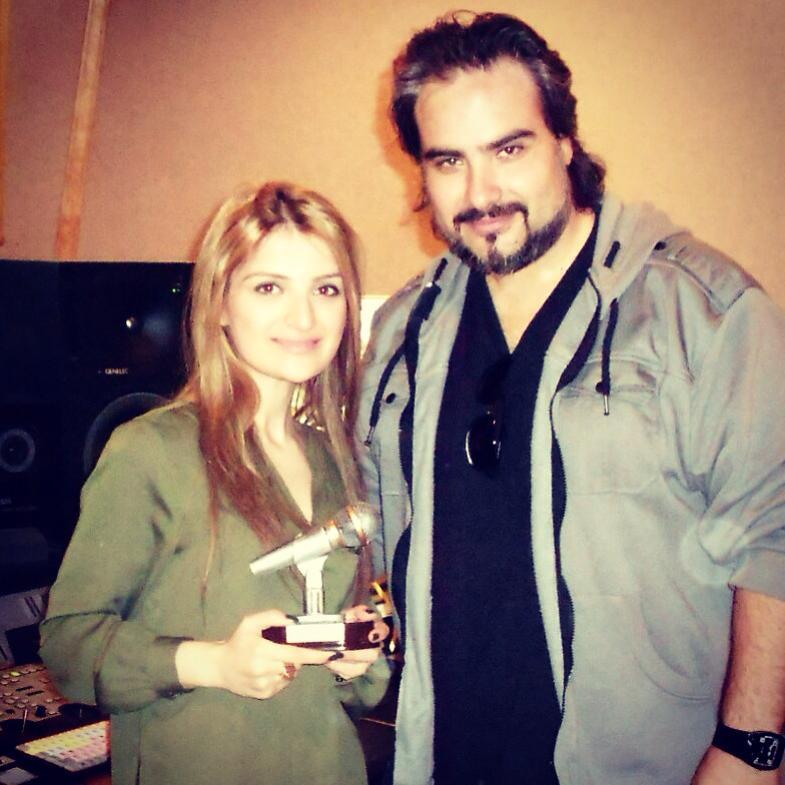 Harout Kalandjian with Silva Hakobyan