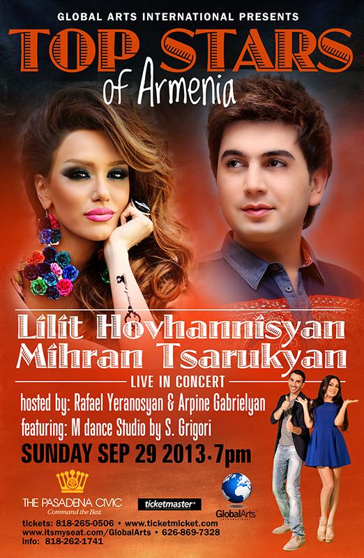 Lilit Hovhannisyan and Mihran Tsarukyan Concert Los Angeles