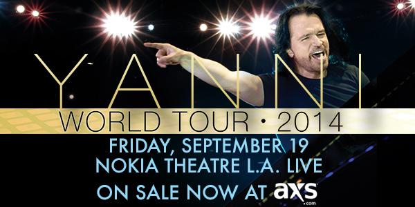 Yanni Live in Concert Nokia Theater LA Live