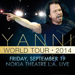 Yanni Live In Concert Nokia Live September 19