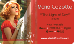 Maria Cozette The Light of Day Available Now!