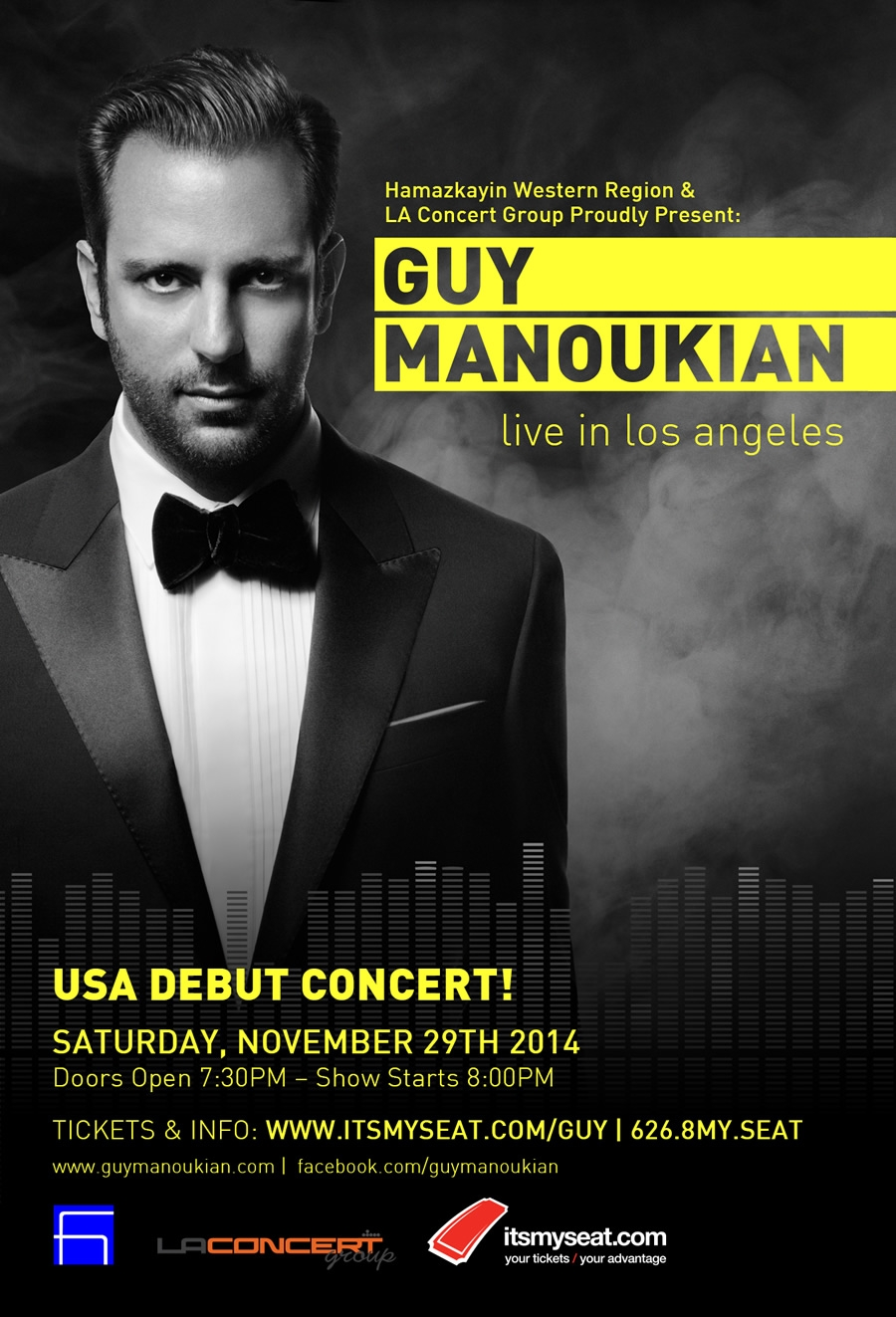 Guy Manoukian Live In Los Angeles