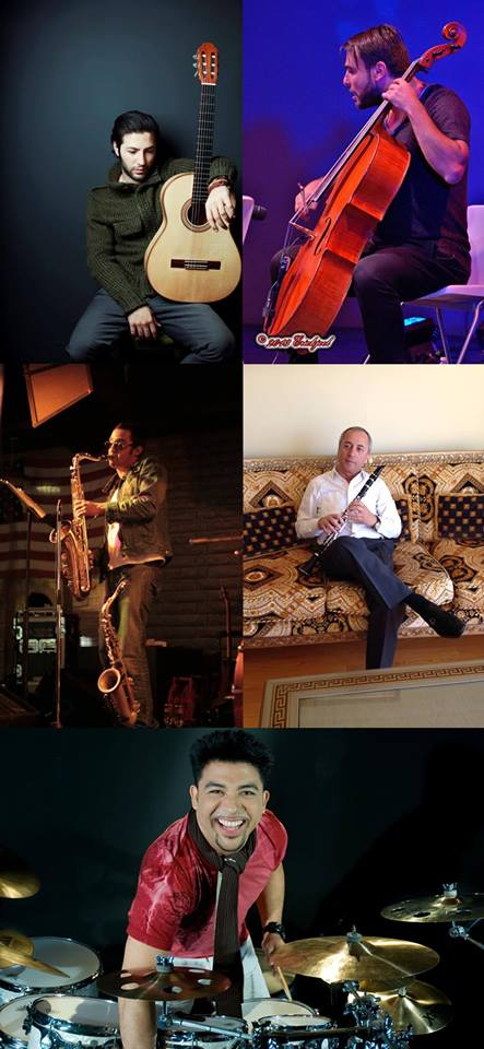 Guy Manoukian Musicians November 29th