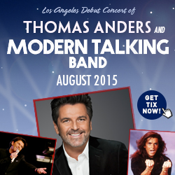 Modern Talking Live In Concert